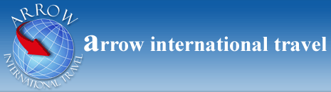 Logo Arrow international travel